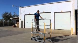 Download Power Snappy Motorized Utility Work Platform Video