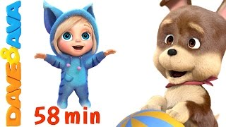 Download 🏈 Action Songs for Kids | Kids Songs | Nursery Rhymes and Action Songs from Dave and Ava 🏈 Video
