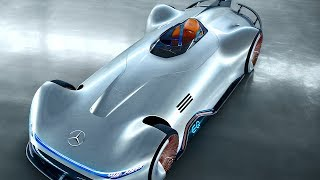 Download Mercedes EQ Electric Supercar Silver Arrow World Premiere 2019 Mercedes Electric Autonomus CARJAM Video