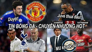 Download Tin bóng đá|Chuyển nhượng 22/07|MU duyệt chi 80 triệu bảng cho Maguire, hợp đồng chuẩn bị công bố Video