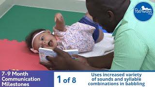 Download 7-9 Month Old Communication Milestones Video