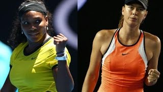 Download Serena Williams VS Maria Sharapova 2016 AO QF(Full) Video