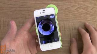 Download Kogeto Dot 360-degree video accessory for iPhone 4/4S review Video