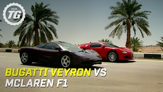 Download Bugatti Veyron vs McLaren F1 - Top Gear - BBC Video