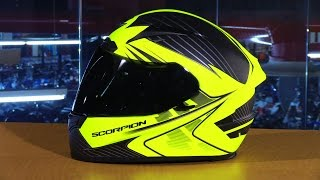 Download Scorpion EXO EXO-R2000 Ravin Full Face Motorcycle Helmet Review Video