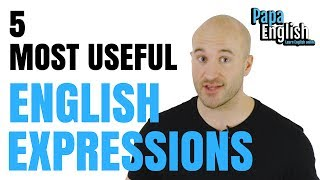 Download 5 MOST USEFUL English expressions that you didn't learn at school! Video