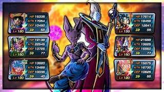 Download *NEW* 100% LR BEERUS AND WHIS SHOWCASE! THE POWER OF DEITIES! | Dragon Ball Z Dokkan Battle Video