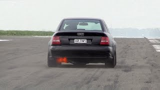 Download 1250HP Audi S4 B5 FROM HELL!! BRUTAL 0-318 KM/H ACCELERATIONS! Video