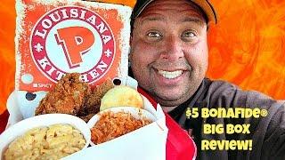 Download Popeye's® Louisiana Kitchen $5 Bonafide Big Box REVIEW! Video