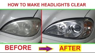 Download How to make headlight clear and shiny like new! Demonstrated on Mercedes W163 ML320 Video