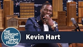 Download Kevin Hart Walks to Set While Dwayne Johnson Drives Video