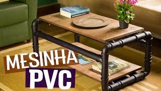 Download DIY - MESA DE CENTRO DE CANO PVC Video
