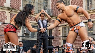 Download Tessa Blanchard vs Anthony Bowens (Intergender Wrestling) Battle Club Pro Video