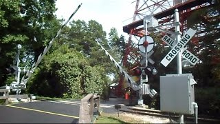 Download Six Flags Texas Railroad Old Wig Wag Crossing And Steam Train Video