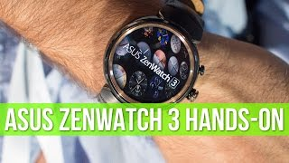 Download Asus ZenWatch 3 hands-on: a thing of beauty! Video