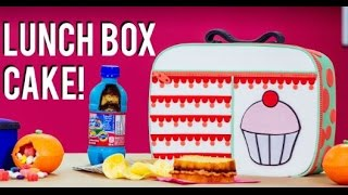 Download How To Make A LUNCH BOX CAKE With ELISE From MY CUPCAKE ADDICTION! Back To School FUNFETTI CAKE! Video