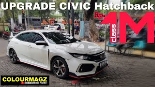 Download BODYKIT Honda CIVIC Hatchback - typeR (Naik Kelas 1 Milyar) Video