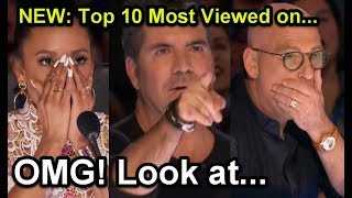 Download #1 NEW: Top 10 Most Viewed America's Got Talent Auditions! Video