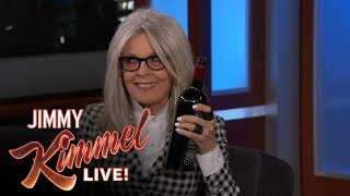 Download Jimmy Kimmel's FULL INTERVIEW with Diane Keaton Video