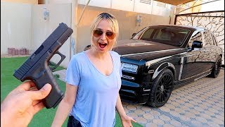 Download SURPRISING MY SISTER WITH A GUN !!! Video