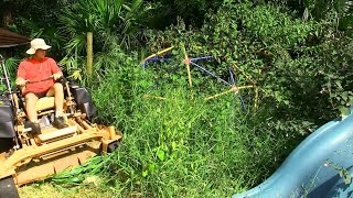 Download Mowing tall thick grass 6 - The Play Area Video