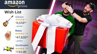 Download I Bought 10 Friends A Mystery Gift From Their Amazon Wishlists! Video