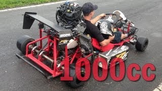 Download 1000cc Kart - LOUD ENGINE SOUND! Video