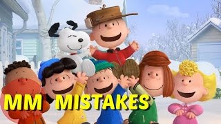 Download 10 Peanuts Movie MISTAKES You Didn't See | The Peanuts Movie Goofs Video