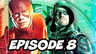 Download The Flash Season 3 Episode 8 Arrow Supergirl Legends Crossover Part 2 Video