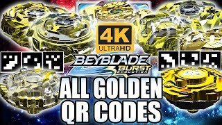 Download TODOS QR CODES BEYBLADES DE OURO EM 4K! ALL GOLDEN BEYBLADES QR CODES IN 4K BEYBLADE BURST APP Video