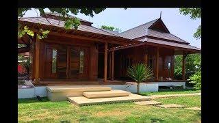 Download บ้านไม้สักชั้นเดียวสไตล์เรือนไทยดั้งเดิม สวยเนี้ยบ คลาสสิค พร้อมบ่อปลากลางบ้านแสนสดชื่น Video