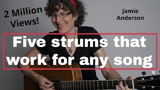 Download Five strum patterns that will work for almost any song Video