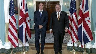 Download Welcoming UK Secretary of State for Foreign and Commonwealth Affairs Jeremy Hunt Video