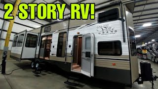 Download 2 Story Travel Trailer RV! This thing is amazing! Salem Destination Trailer! Video