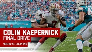 Download Jeremy Kerley Makes Amazing Catch, But Kaepernick Gets Tackled Short | 49ers vs. Dolphins | NFL Video