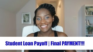Download Paying off Student Loans| Over $90,000 of Debt | FINAL PAYMENT | Financial Freedom | FrugalChicLife Video