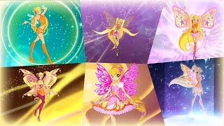 Download Winx Club - Stella All Full Transformations up to Tynix! HD! Video