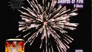 Download Swords Of Fire - Fireworks Video