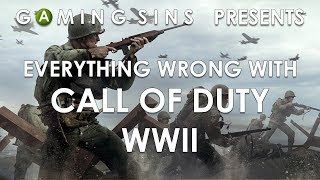 Download Everything Wrong With Call Of Duty WWII In 12 Minutes Or Less | GamingSins Video