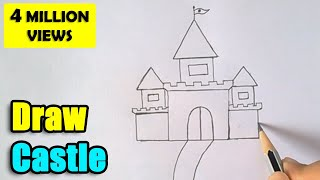 Download How to Draw Castle for Kids Video