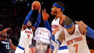 Download COULD OF DROPPED 82!! CARMELO ANTHONY 62 POINTS CAREER HIGH REACTION! Video
