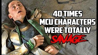 Download 40 Times MCU Characters Were Totally Savage Video