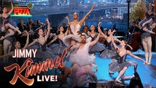 Download Misty Copeland Gives Jimmy Kimmel and Guillermo a Ballet Lesson Video