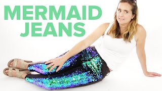 Download I Wore Mermaid Jeans For A Day Video