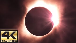 Download Solar Eclipse 2017 (Totality) 4K 60 FPS - August 21st 2017 (DIAMOND RING) Video