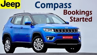 Download Jeep Compass Bookings Started in India : First Made-in-India Jeep @ 18 - ₹25 lakh (approx) Video