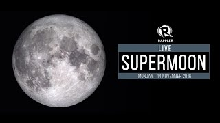 Download LIVE: Supermoon, 14 November 2016 Video