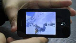 Download 4GB 2.6″ Touch Screen MP4 Player with PC-Camera DV FM Video