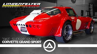 Download '63 Corvette Grand Sport with 750 HP Lingenfelter LT4 | Superformance Video