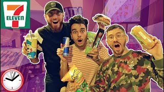 Download We Only Ate GAS STATION Food for 24 HOURS! (IMPOSSIBLE FOOD CHALLENGE) Video
